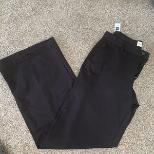 Gap Wide Leg Black Slacks Size 6R